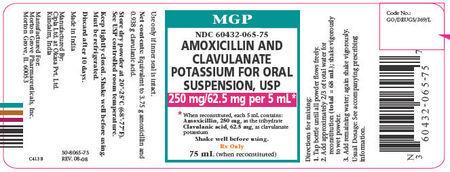Amoxycillin+clavulanate