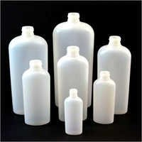 Oval Shaped HDPE Bottle
