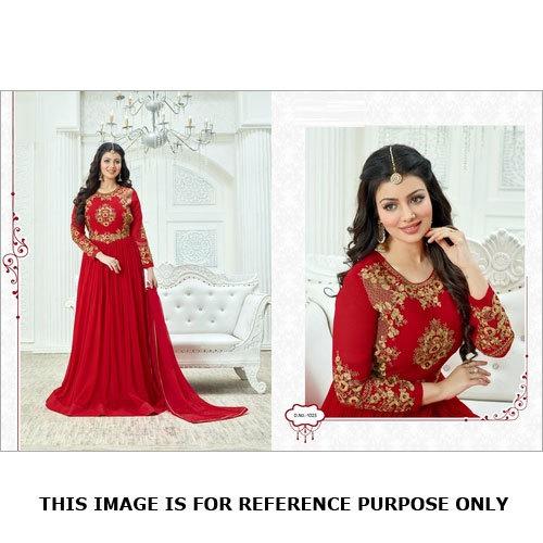 Blushing Red Designer Suit Online