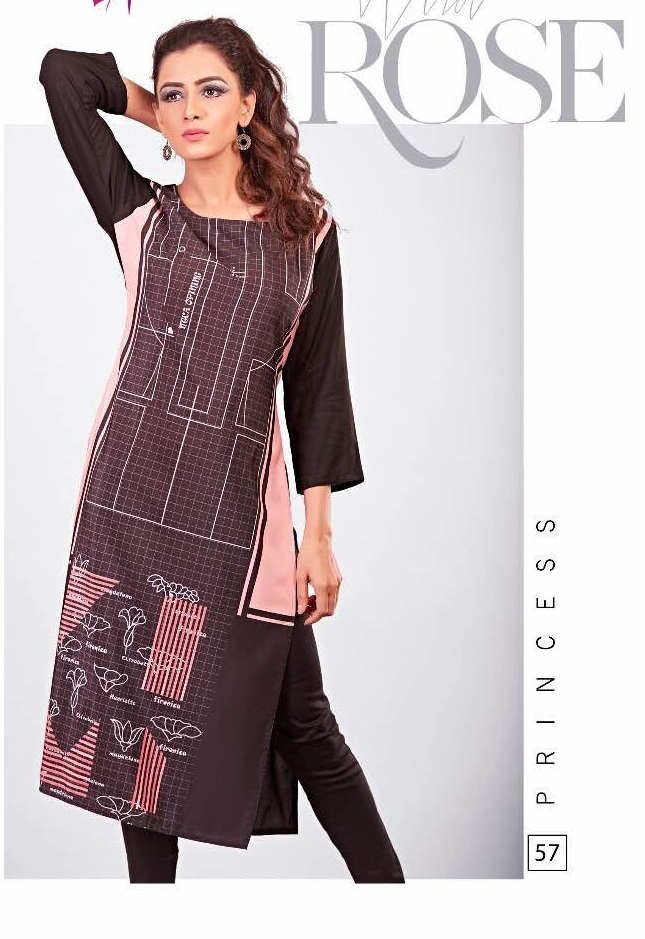 Rayon Summer Wear Tunic