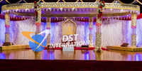 Latest Beautiful Crystal Mandap