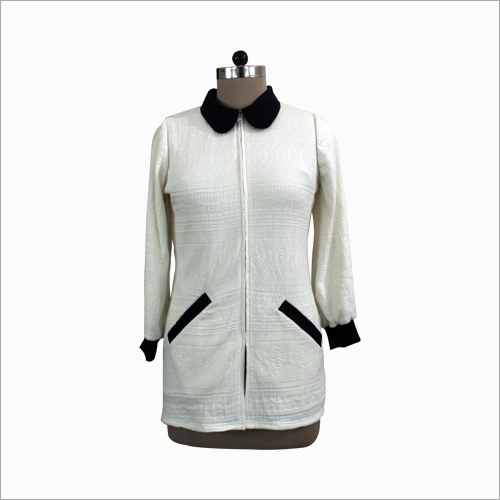 Ladies White Jacket