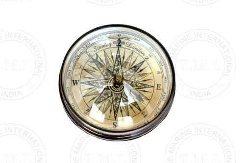 Brass Lens Compass