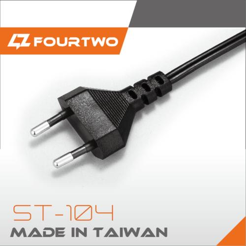 2 pin EU plug
