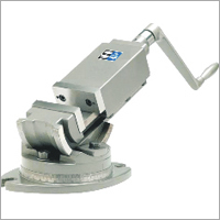 Tilting and swiveling machine vice
