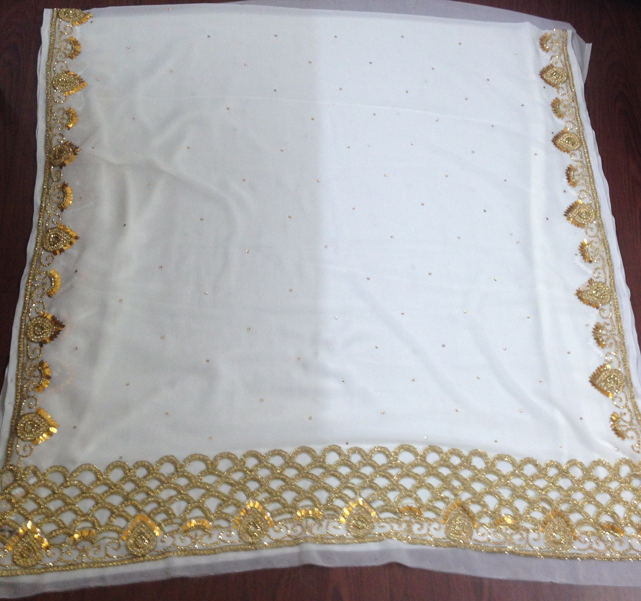 Heavy Embroidered Fabric
