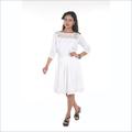 One Piece White Dress
