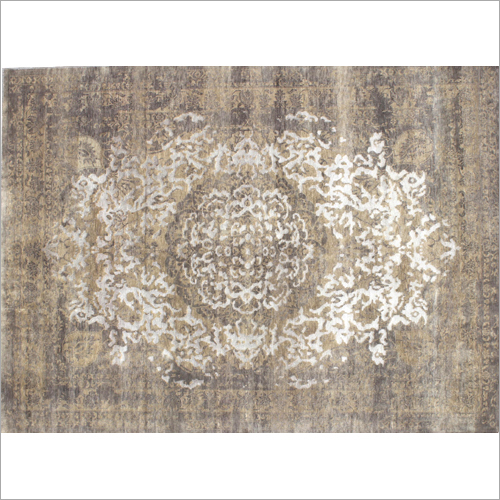 Knotted Bamboo Silk Rugs
