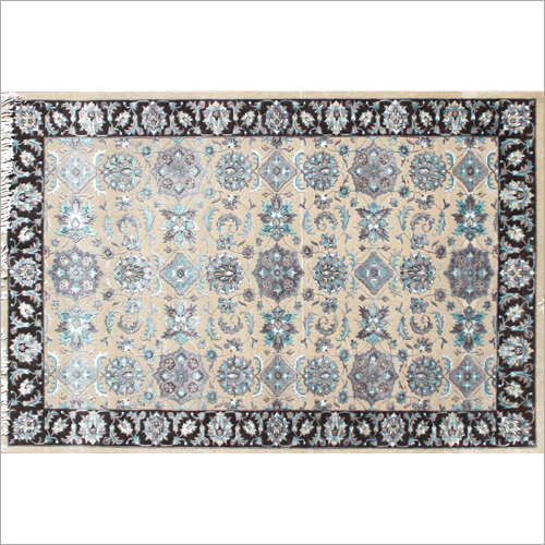 Designer Knotted Persian Carpet