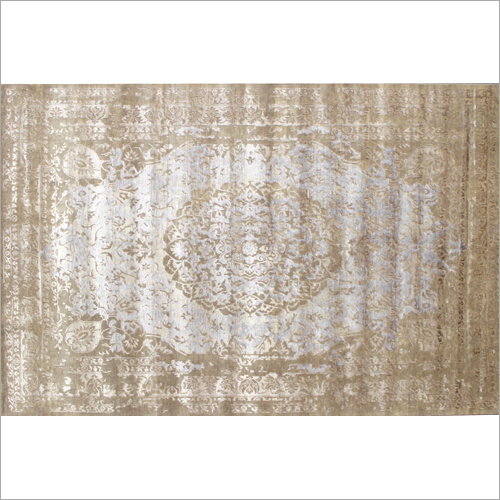 Shubh Beige Antique Hand Knotted Carpets