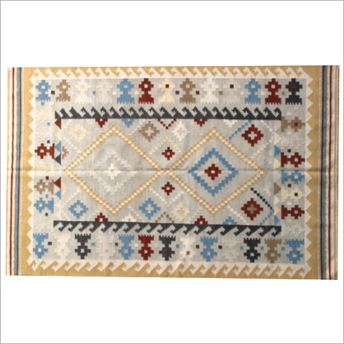 Handloom Multi Striped Carpet
