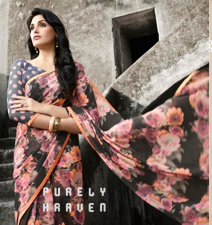 Buy YNF Gulbguni Silk saree online in surat from Sethnic Wholesale