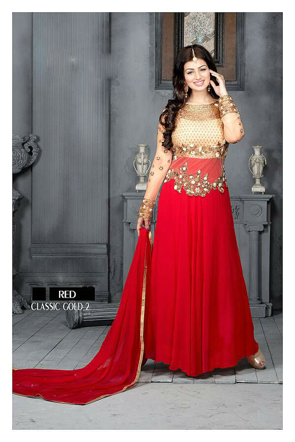 Georgette and Net Anarkali Suits