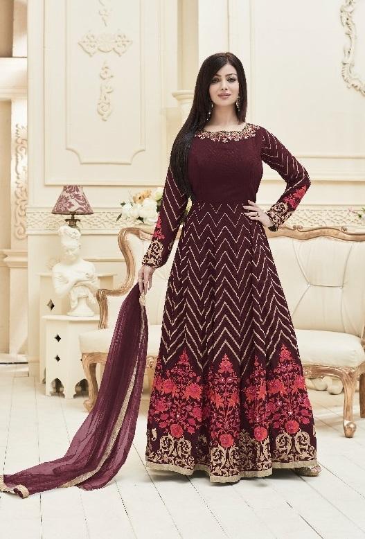 Handwork Anarkali Suits
