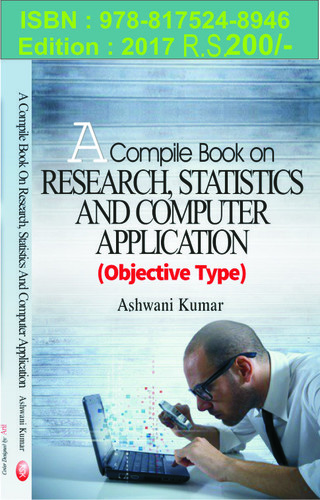 A Compile Book on Research, Statistics and Computer Application