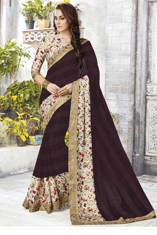 Half sarees
