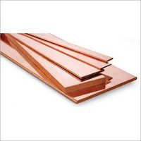 Bare Copper Flat Bar