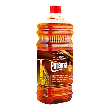 Kachi Ghani Pure Mustard Oil 1 litre Bottle