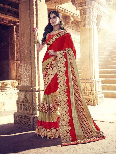 Georgette Wedding Saree