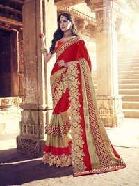 Georgette Wedding Saree