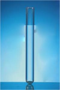 Test Tubes, Round Bottom, with rim, Plain Boro 3.3