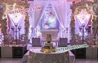 Latest Design Wedding Reception Stage