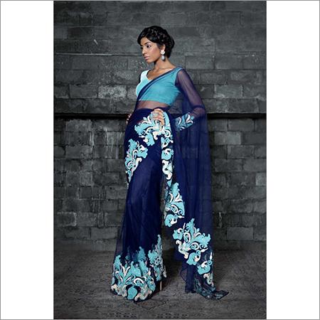 Ladies Fancy Velvet Saree