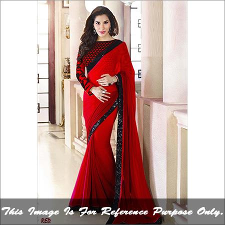 Ladies Plain Saree