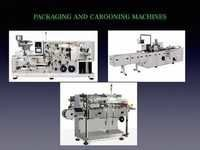 Packing and Carooning Machines