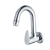 Sink Cock With Wall Flange
