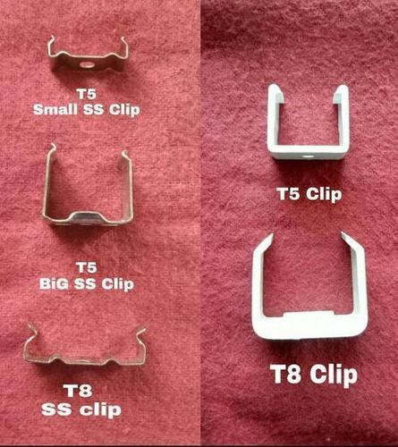 Led Tube Fixtures Clip SS, Plastic