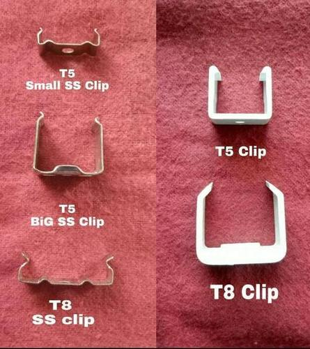 Led Tube Fixtures Clip SS, Plastic