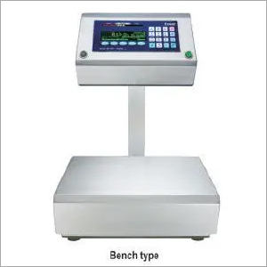 Label Printing and Check Counting Weighing Machine