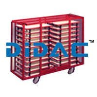 Drawing Board Storage Trolley