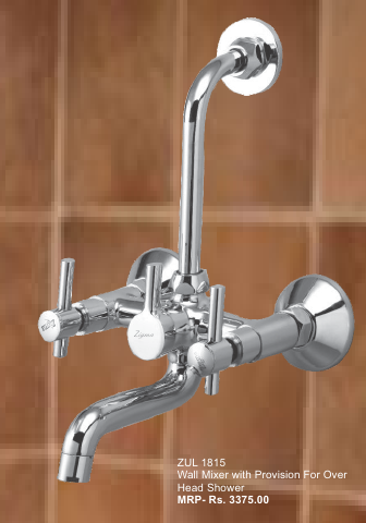 Wall Mixer With Provision For Overhead Shower - Wall Mixer With ...