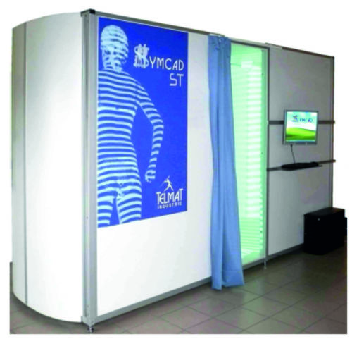 Special Tracking 3D body scanner SYMCAD II ST