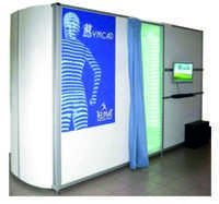 High Definition 3D body scanner SYMCAD II HD