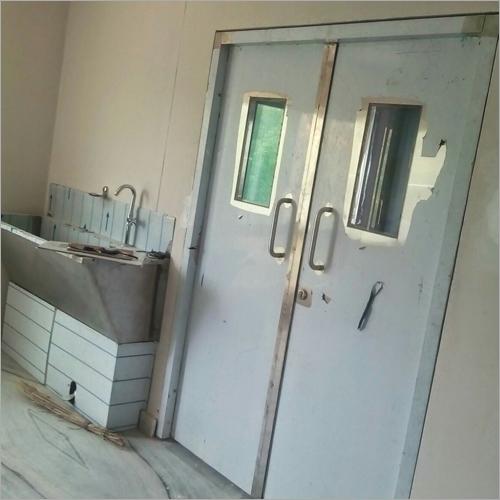Stainless Steel Hospital Double Door