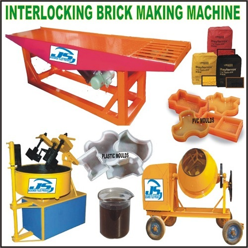 Interlocking Brick Making Machiine