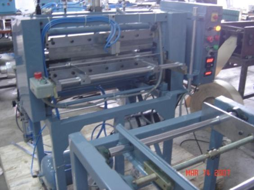 KNIFE PLEATING MACHINE MULTI LAYERED WIRE MESH PLEATING