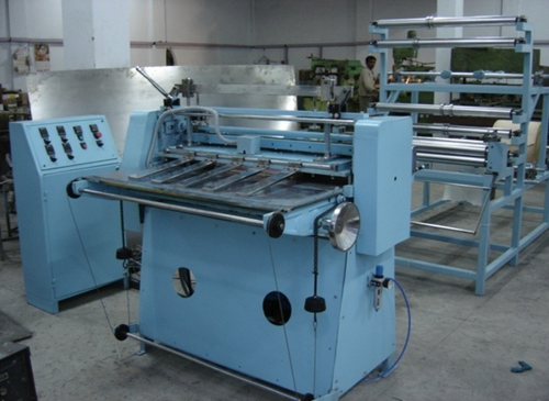 KNIFE PLEATING MACHINE W-TYPE MULTI LAYERED MEDIA PLEATING