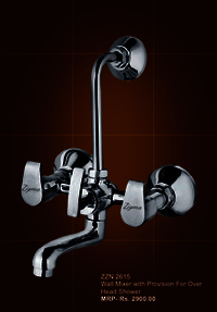 Wall Mixer With Provision For Overhead Shower