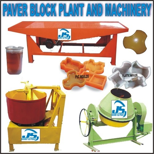 Paver Block Plant And Machinery