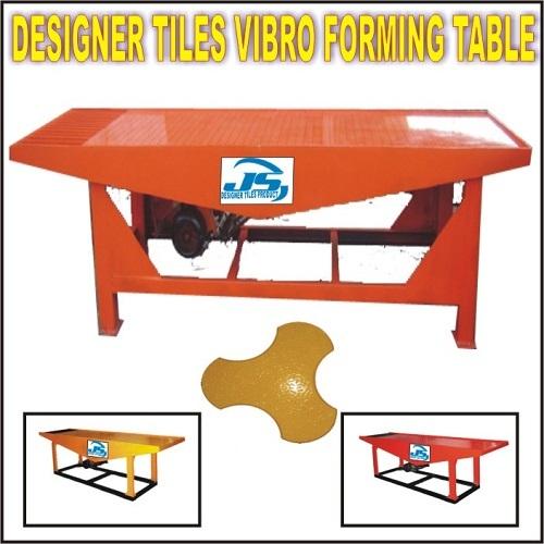 Designer Tiles Vibro Forming Table
