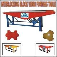 Interlocking Block Vibro Forming Table