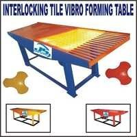 Interlocking Tile Vibro Forming Table