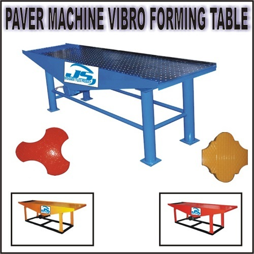 Paver Machine Vibro Forming Tanle