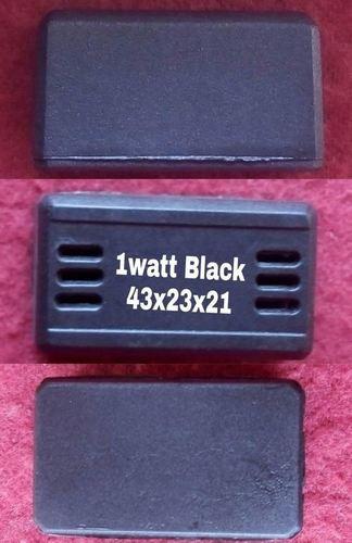 1 Watt black Nylon Driver cabinet
