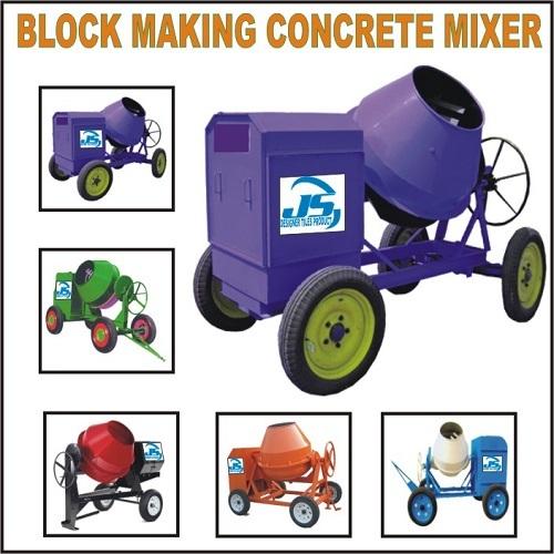 Block Making Concrete Mixer