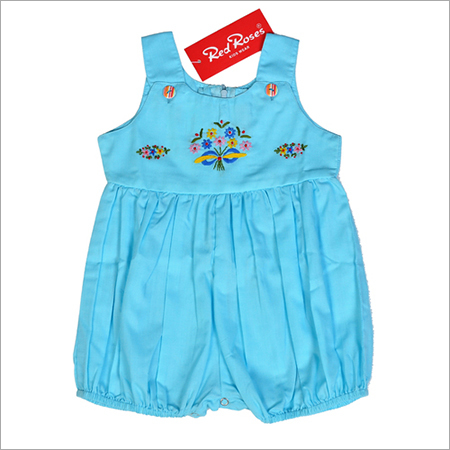 Blue Kids Romper
